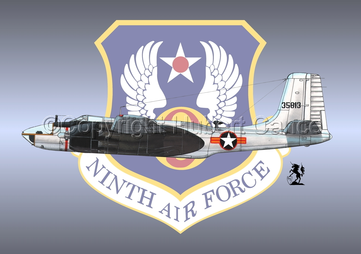 "Douglas RB-26C ""Invader"" (Insignia #2) (large view)"