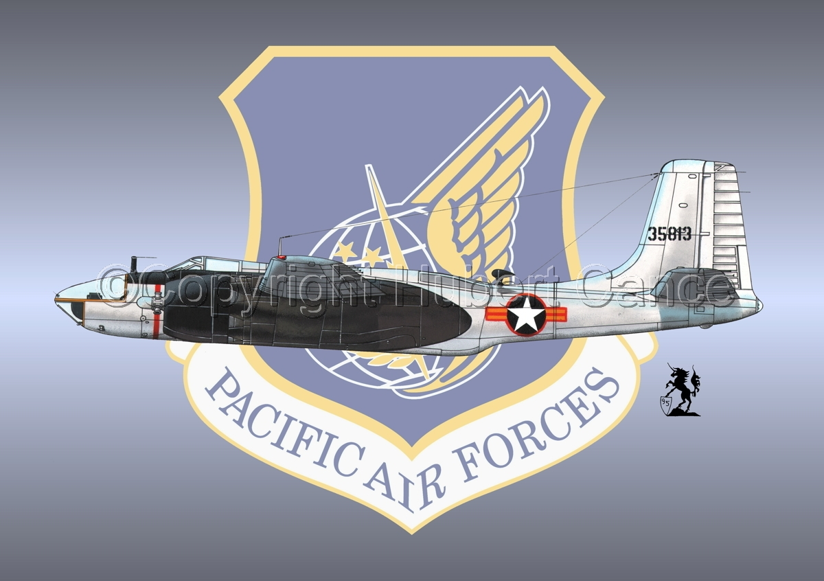 "Douglas RB-26C ""Invader"" (Insignia #1) (large view)"