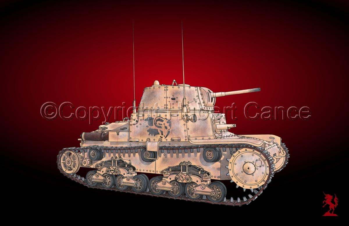 M13/40 medium Tank #1.4 (large view)