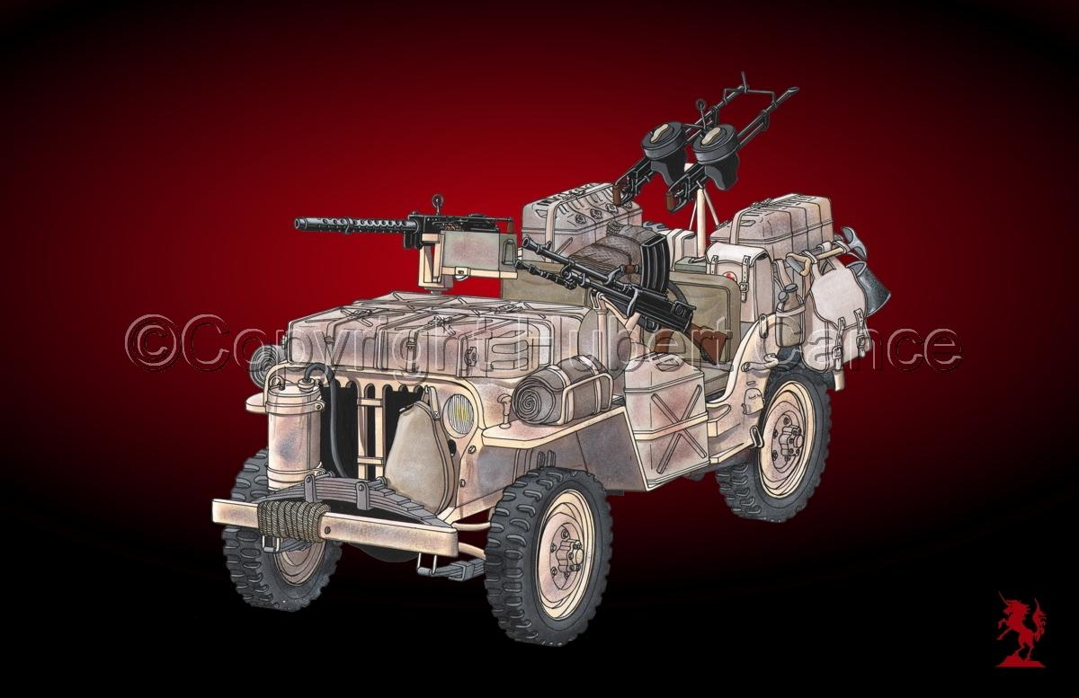 Jeep LRDG #3 (large view)