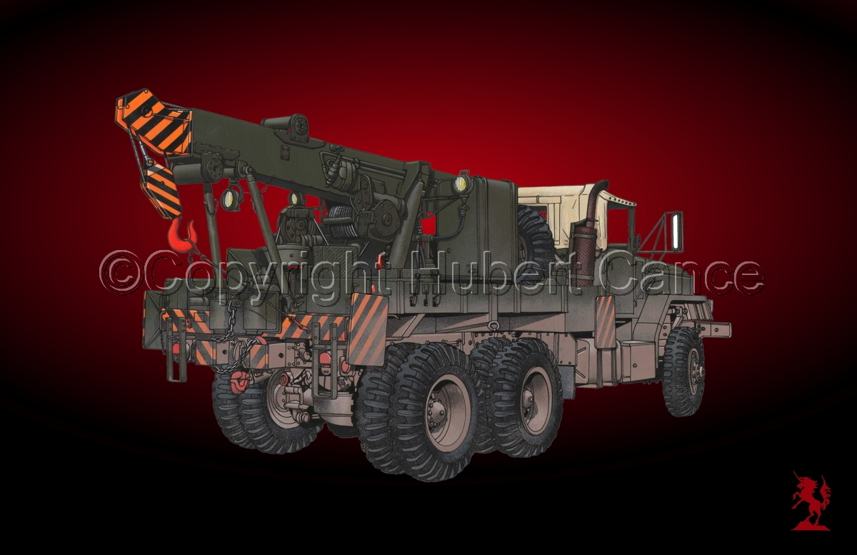 AM M936 Recovery Truck #1.4 (large view)