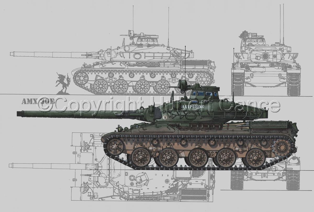 AMX 30B2 (Blueprint #3) (large view)