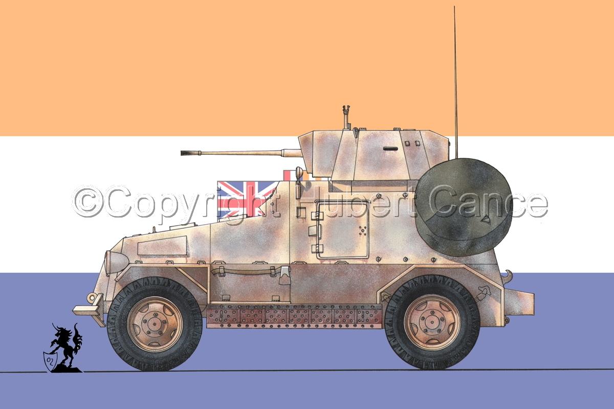Marmon-Herrington Mk.IIIa ME (2 cm Flak 38) (Flag #1) (large view)