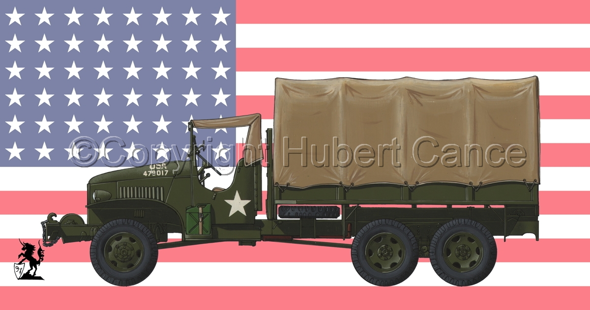 GMC CCKW-353 (Flag #1) (large view)