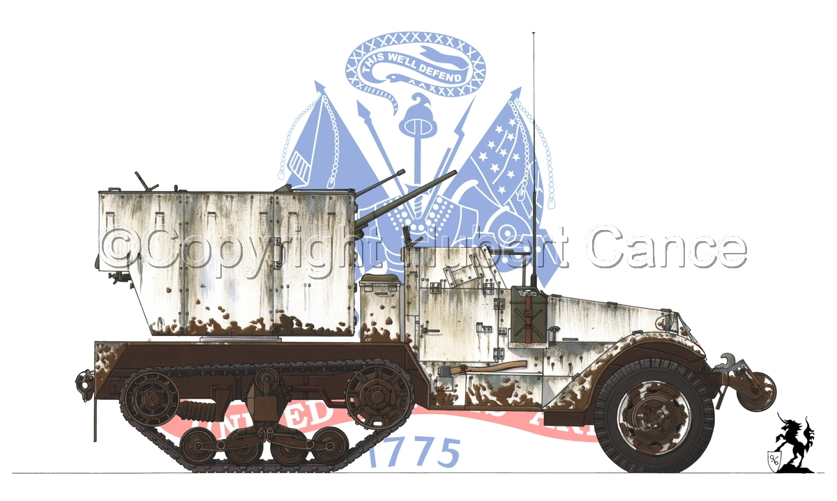 M15 MGMC Half-Track (Flag #2) (large view)