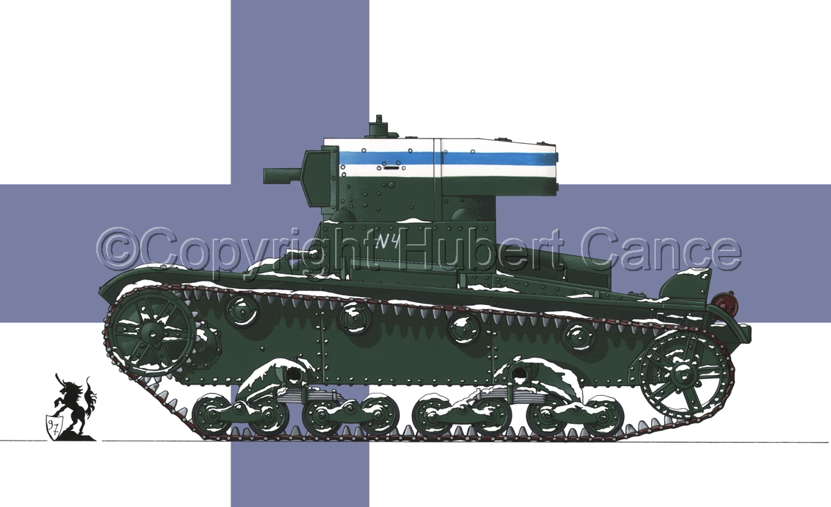 OT-130 Flamethrower Tank (Flag #1) (large view)
