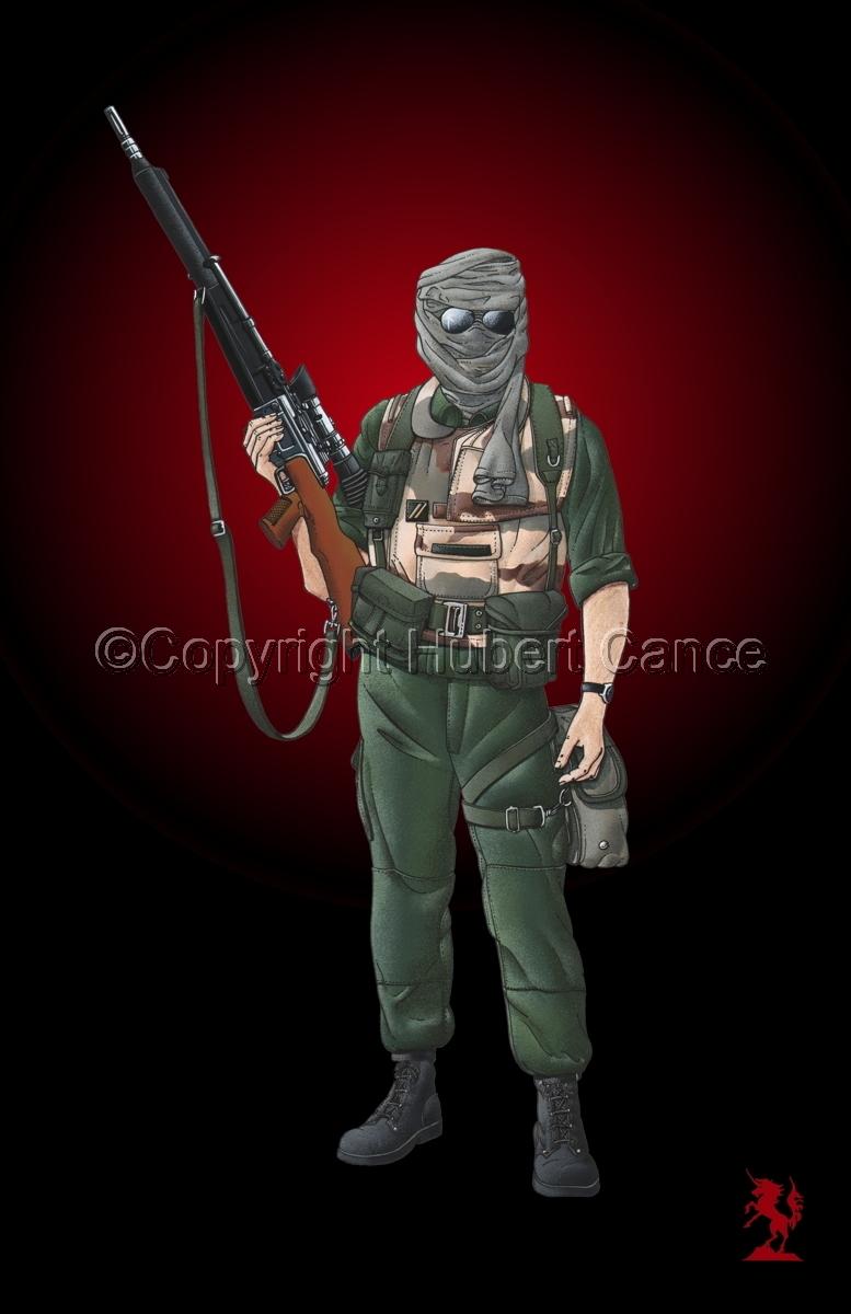 Foreign Legion Sniper (Gulf War 1) #3 (large view)