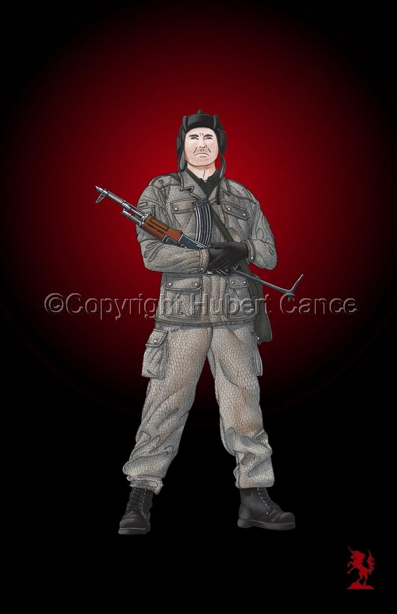 East German Tank Crewman #3 (large view)