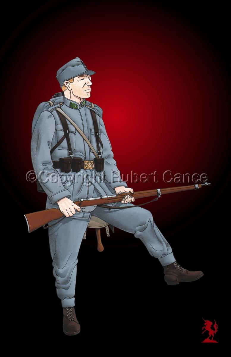 2nd. Imperial Austrian Landwehr Regiment (1914) #3 (large view)