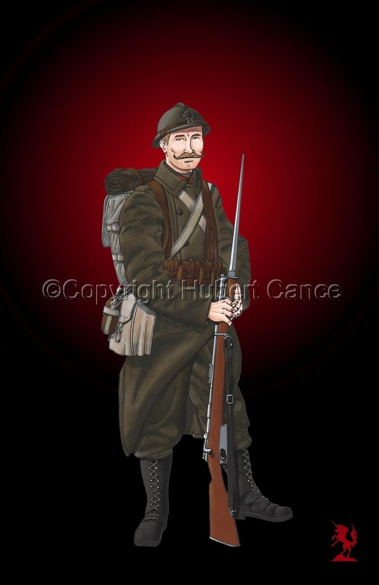 12eme Regiment de Ligne du Prince Leopold (1917) #3 (large view)