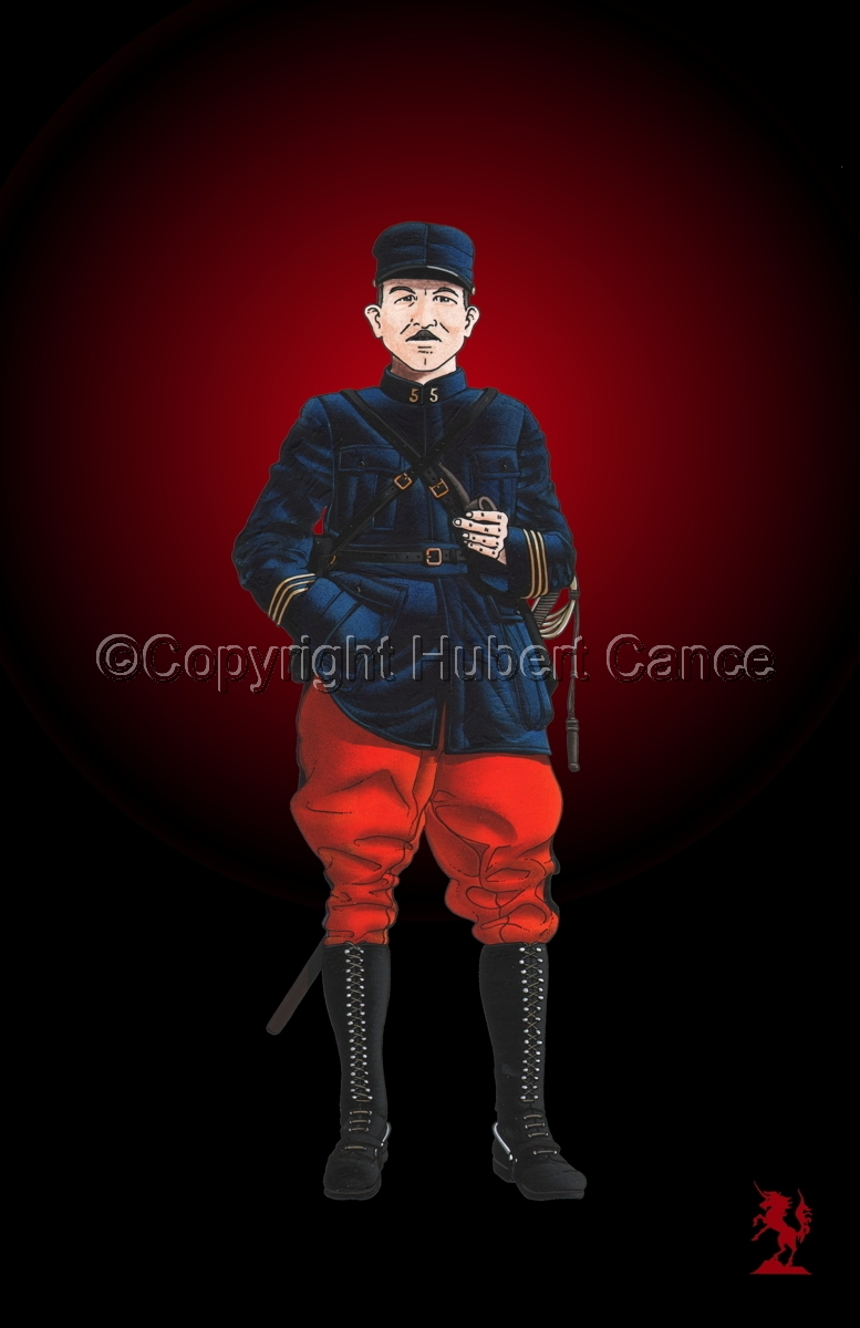 French, Capitaine, 5eme Regiment d'Infanterie (1914) #3 (large view)