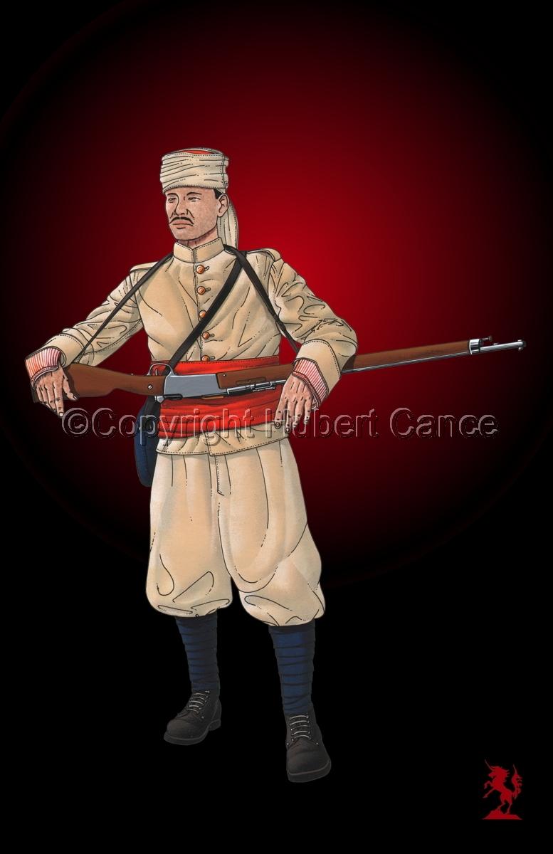 French Soldier, 1er Regiment de Tirailleurs Marocains (1914) #3 (large view)