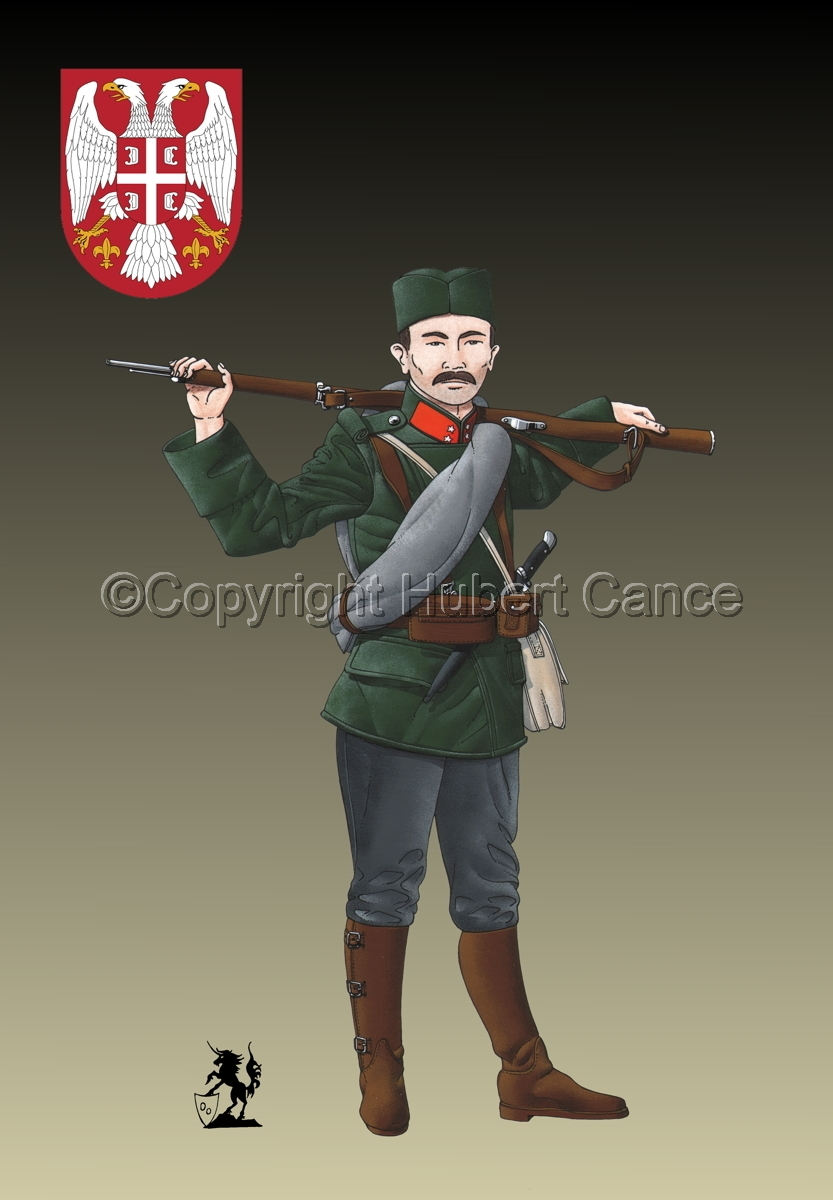 Corporal, Serbian Infantry (1914) (Insignia #1.2) (large view)