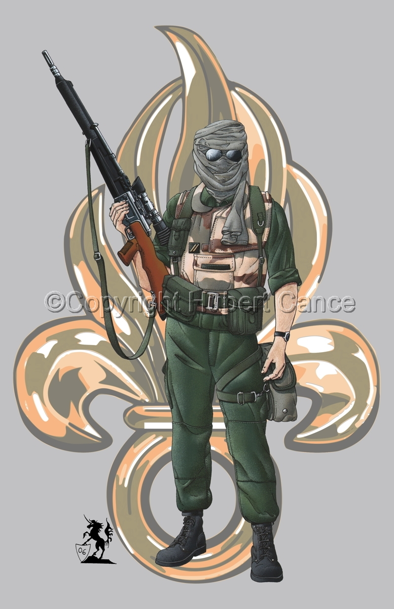 Foreign Legion Sniper (Insignia #1) (large view)