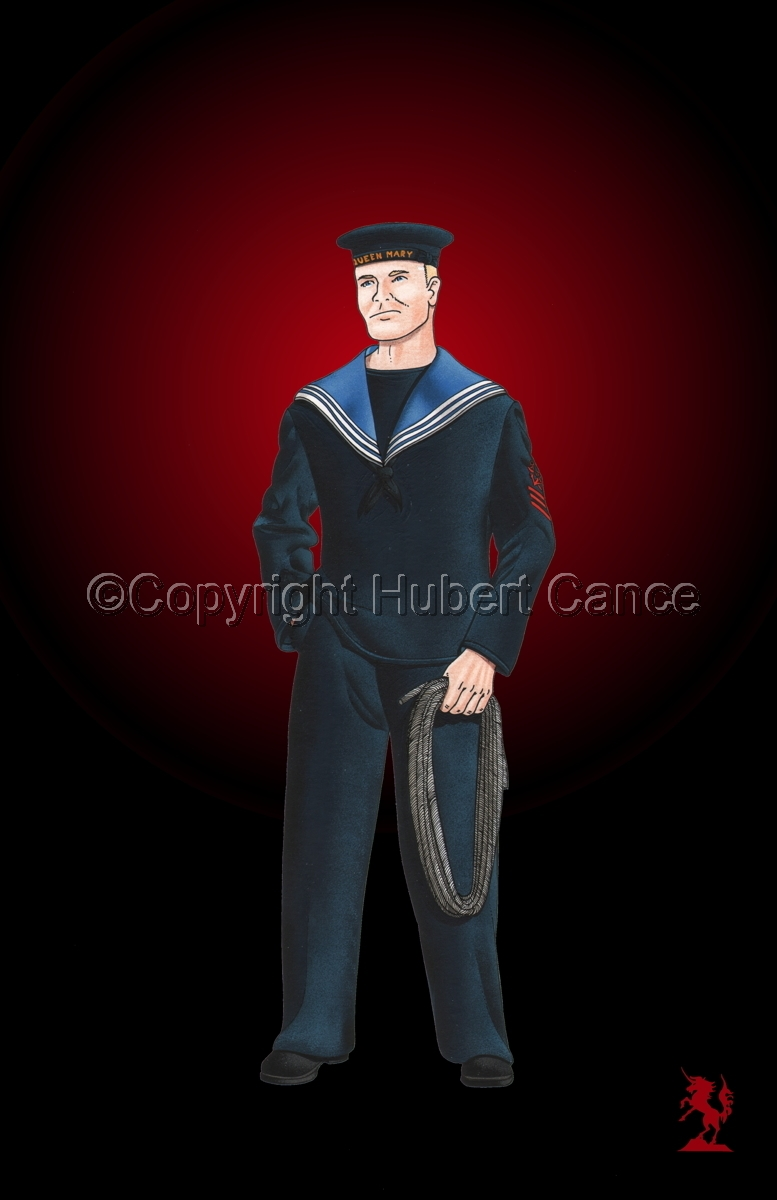 Sailor, HMS Queen Mary, Royal Navy (WW1) #3 (large view)