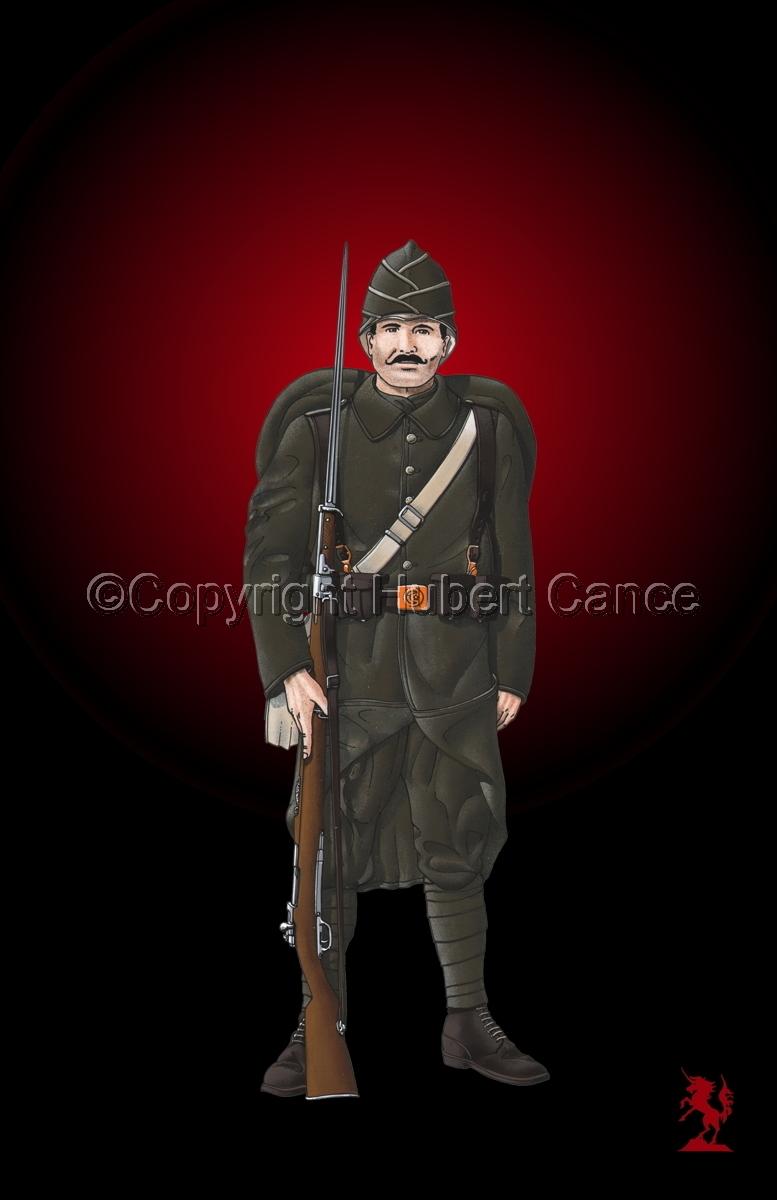 Turkish Infantryman (1916) #3 (large view)