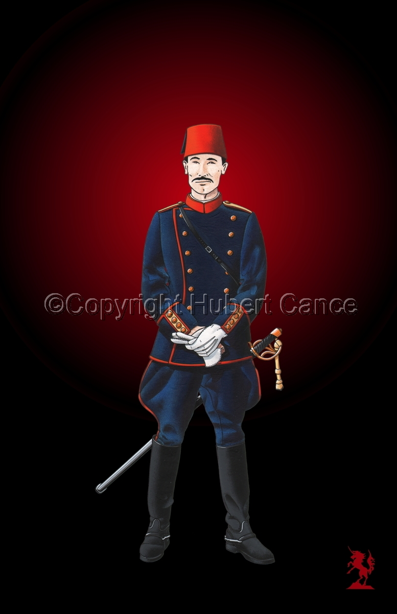 Officer, Turkish Infantry (1914) #3 (large view)