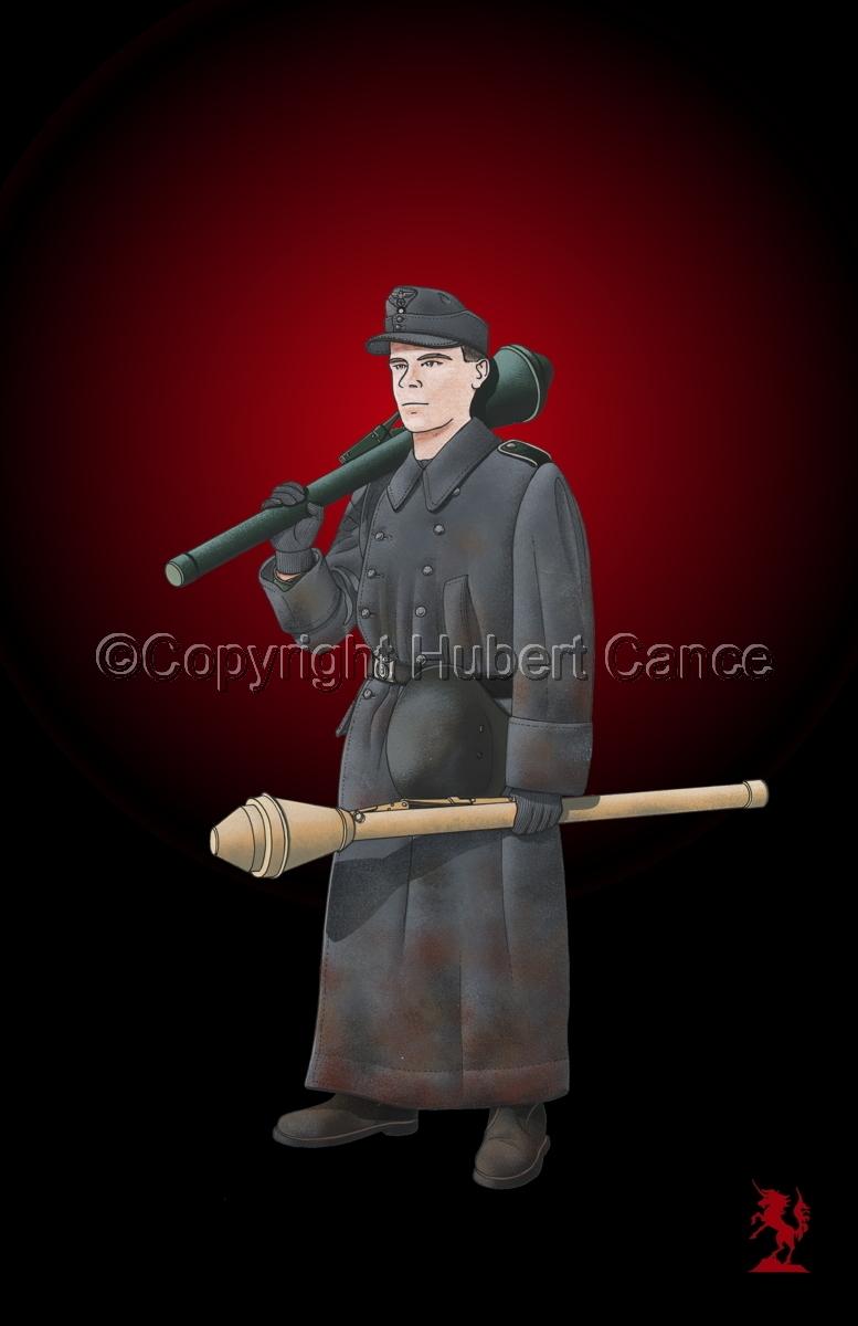 German Volksturm Soldier (Berlin 1945) #3 (large view)