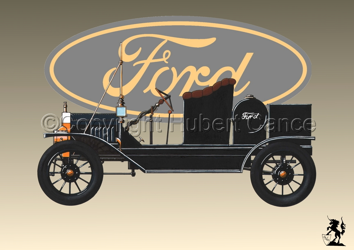 Ford T (Logo #2) (large view)