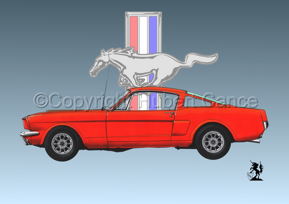 Ford Mustang (Logo) (large view)