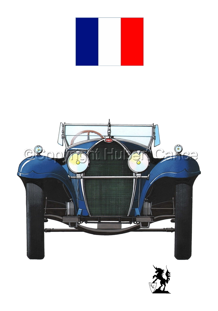 Bugatti Type 50 (Flag #1.1) (large view)