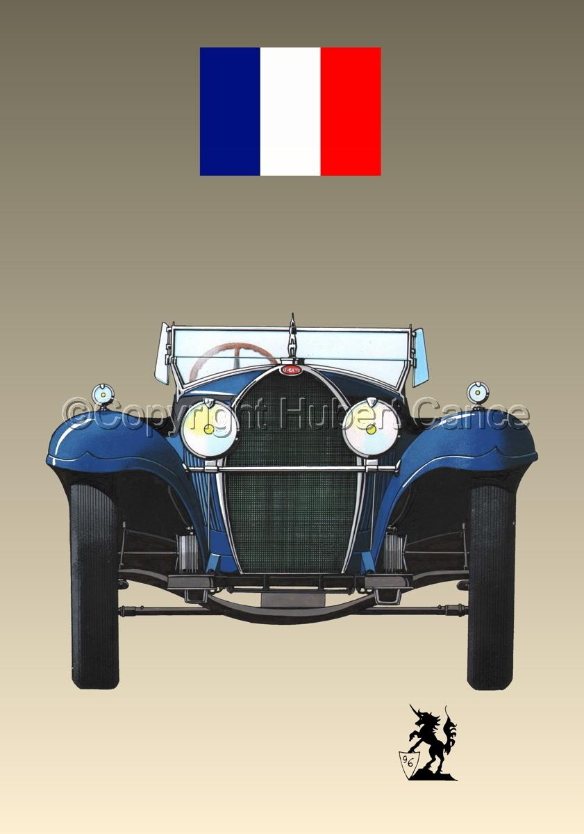 Bugatti Type 50 (Flag #1.3) (large view)
