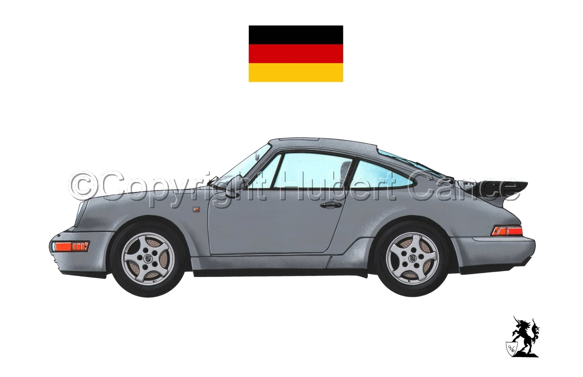 Porsche 911 (Flag #1.1) (large view)