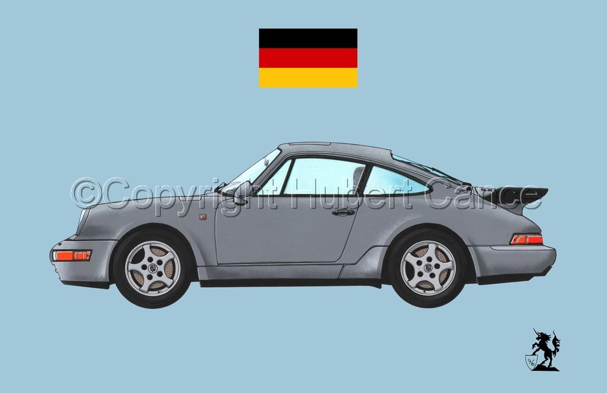 Porsche 911 (Flag #1.2) (large view)