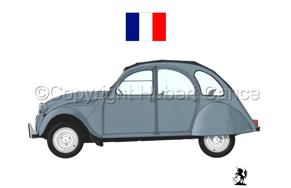 Citroen 2 CV (Flag #2.1) (large view)