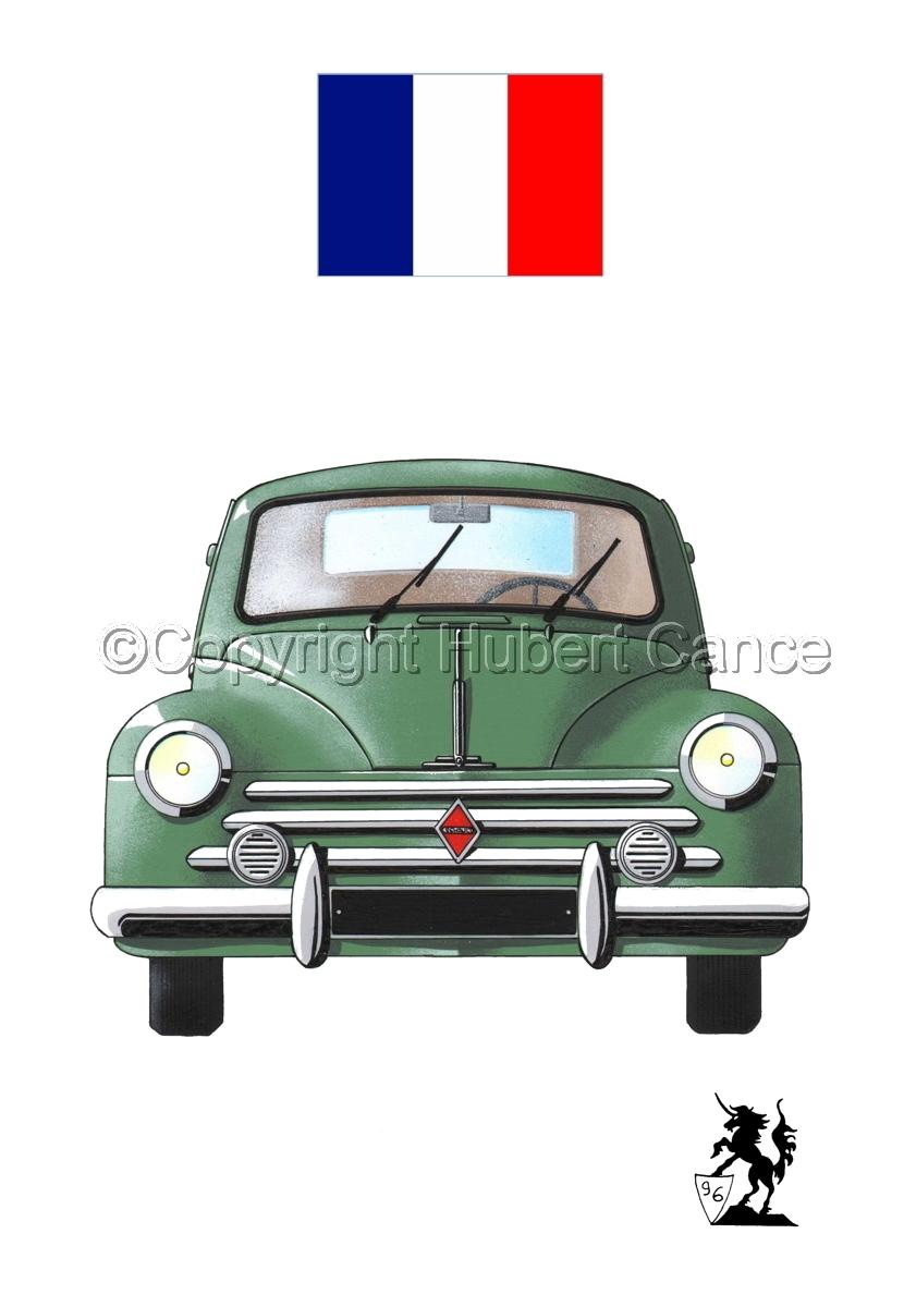 Renault 4 CV (Flag #1.1) (large view)