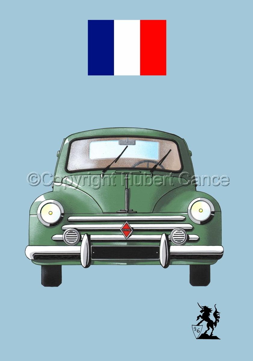 Renault 4 CV (Flag #1.2) (large view)