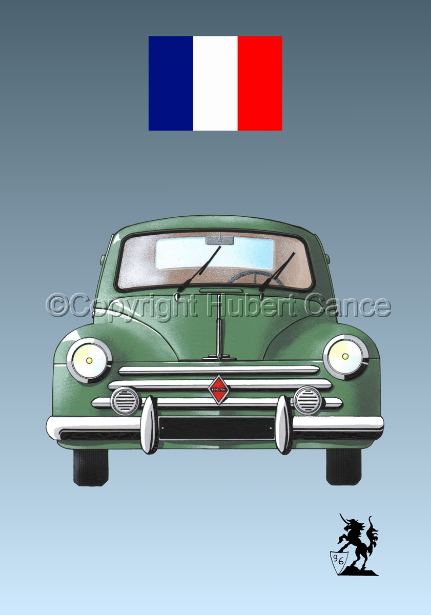 Renault 4 CV (Flag #1.3) (large view)