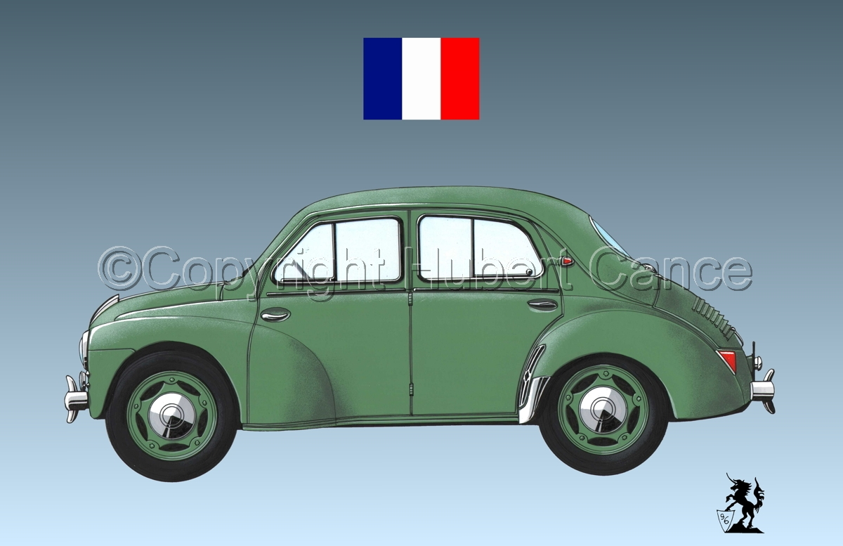 Renault 4 CV (Flag #2.3) (large view)