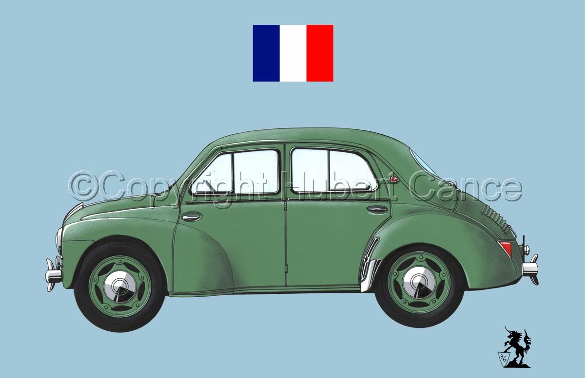 Renault 4 CV (Flag #2.2) (large view)