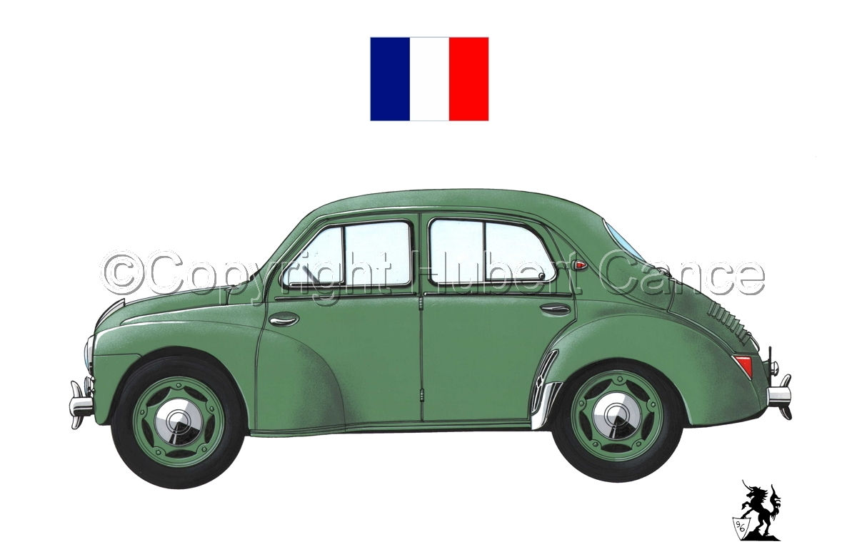 Renault 4 CV (Flag #2.1) (large view)