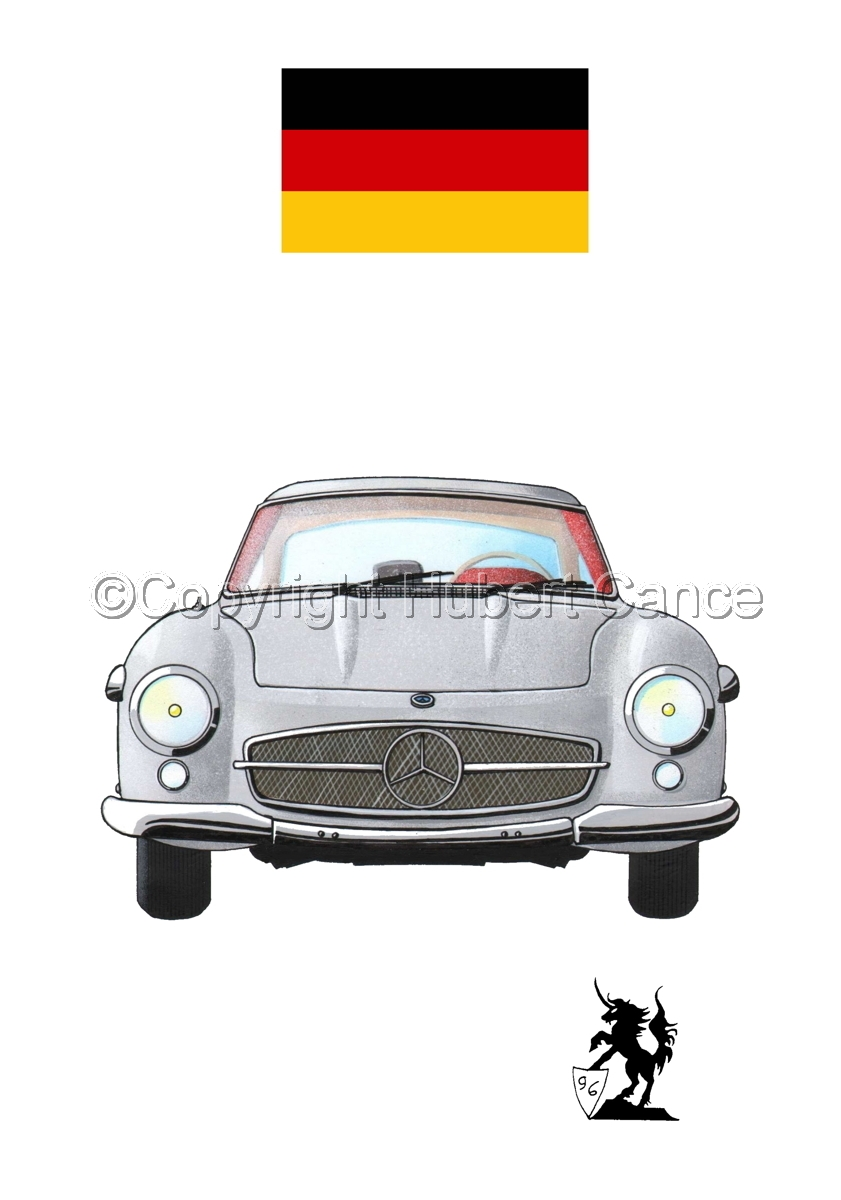 Mercedes-Benz 300SL (Flag #1.1) (large view)