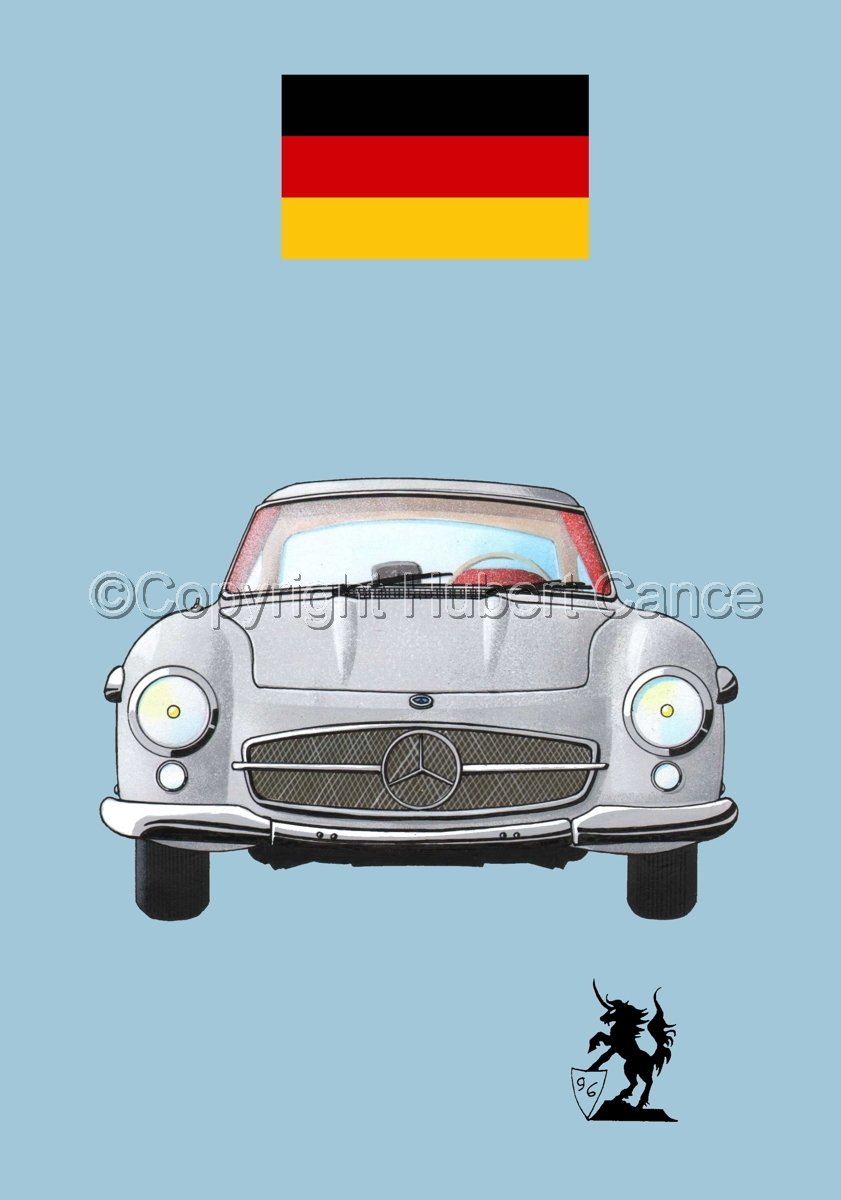 Mercedes-Benz 300SL (Flag #1.2) (large view)