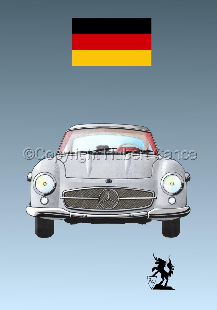 Mercedes-Benz 300SL (Flag #1.3) (large view)