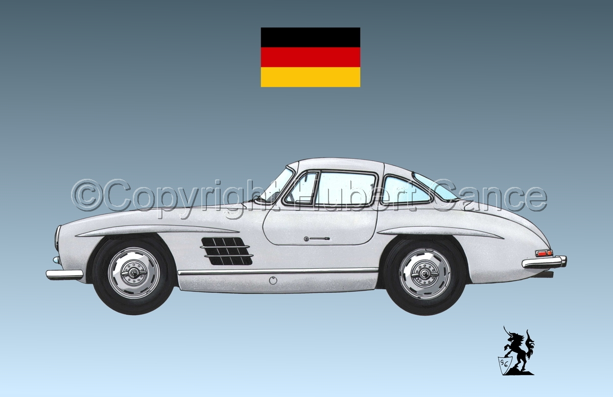 Mercedes-Benz 300SL (Flag #2.3) (large view)