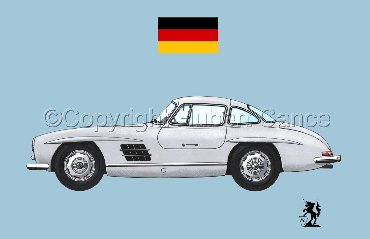 Mercedes-Benz 300SL (Flag #2.2) (large view)