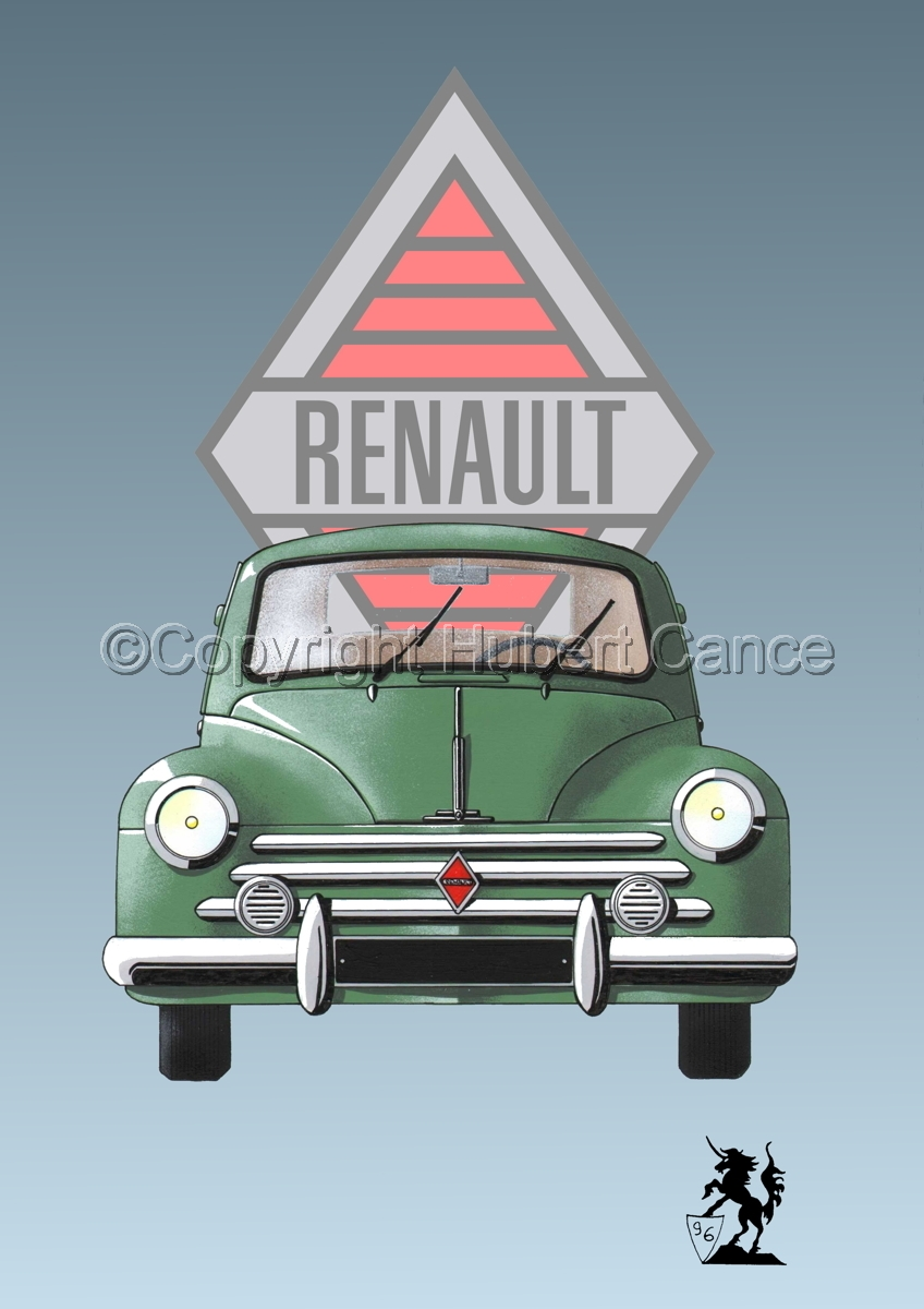 Renault 4 CV (Logo #1) (large view)