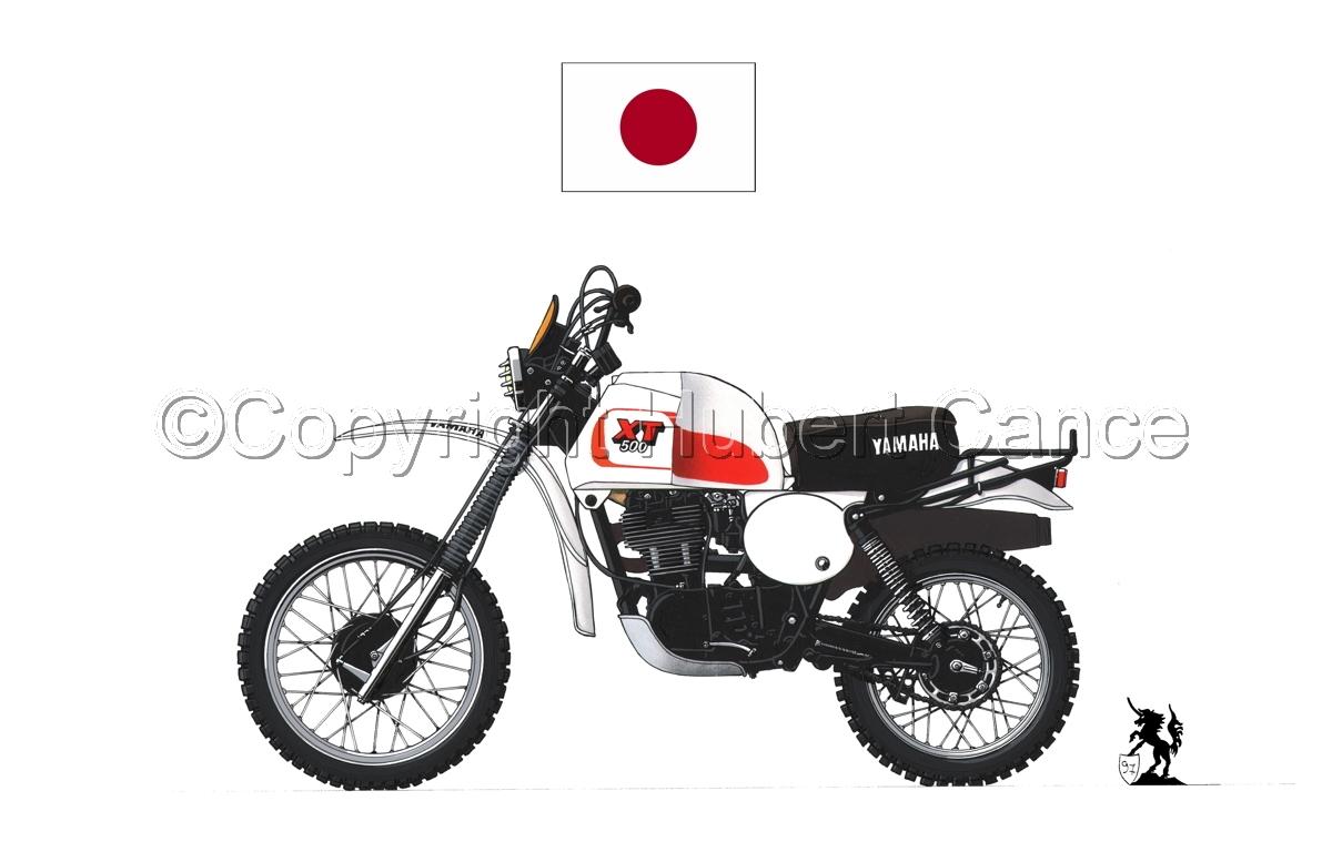 Yamaha XT500 (Flag #1.1) (large view)