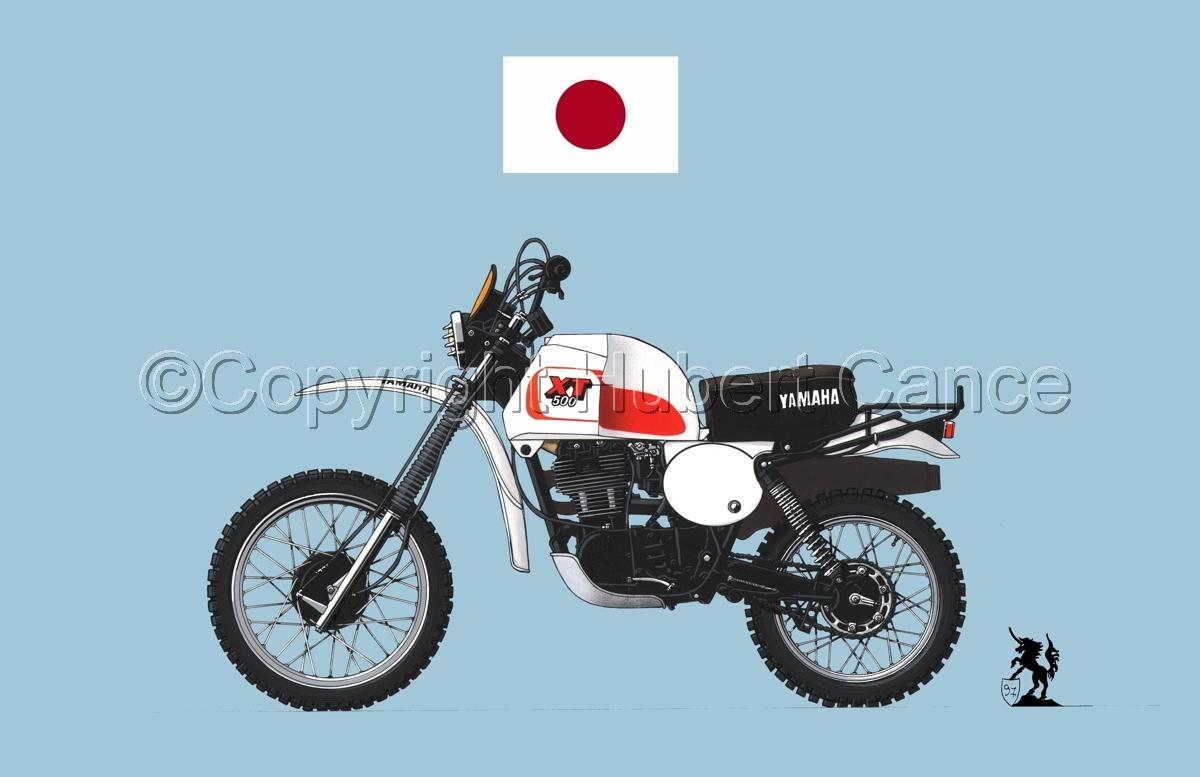 Yamaha XT500 (Flag #1.2) (large view)
