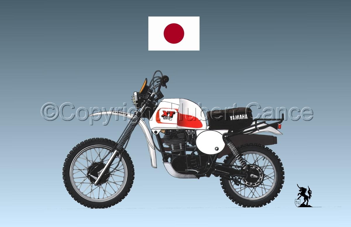 Yamaha XT500 (Flag #1.3) (large view)