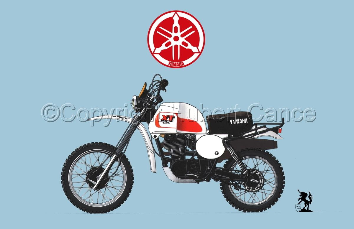Yamaha XT500 (Logo #1.2) (large view)