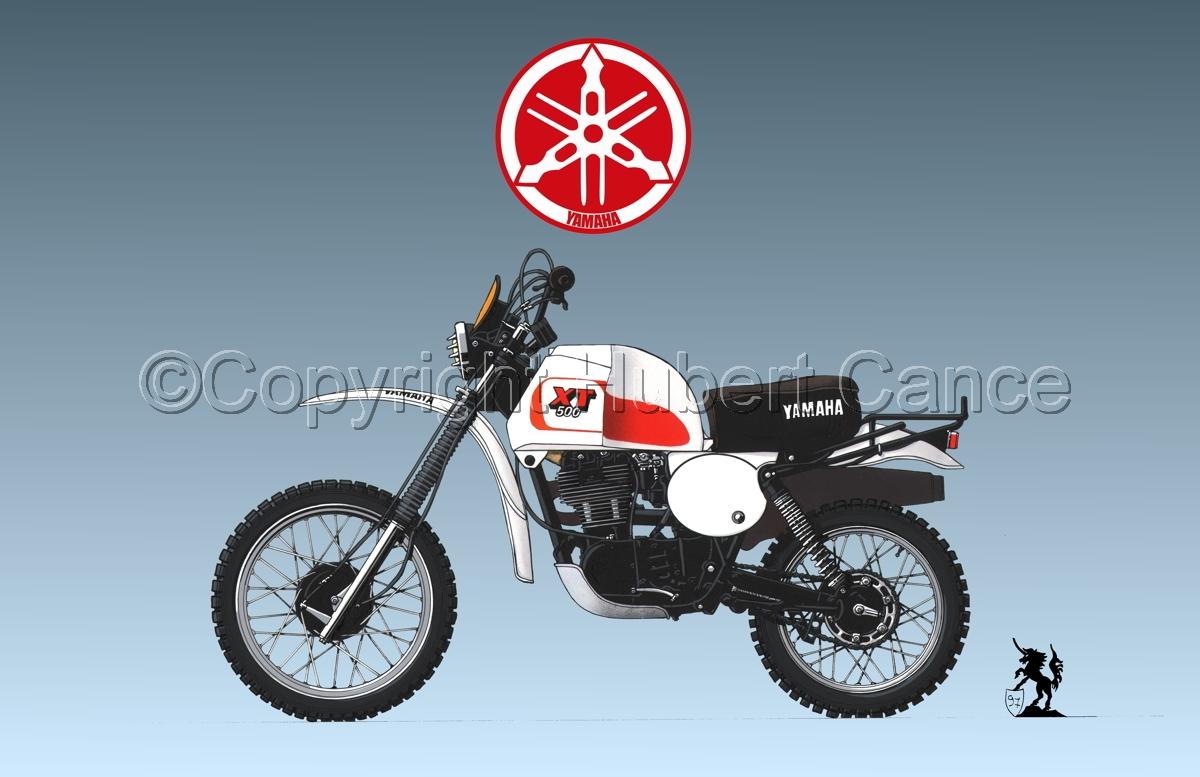 Yamaha XT500 (Logo #1.3) (large view)