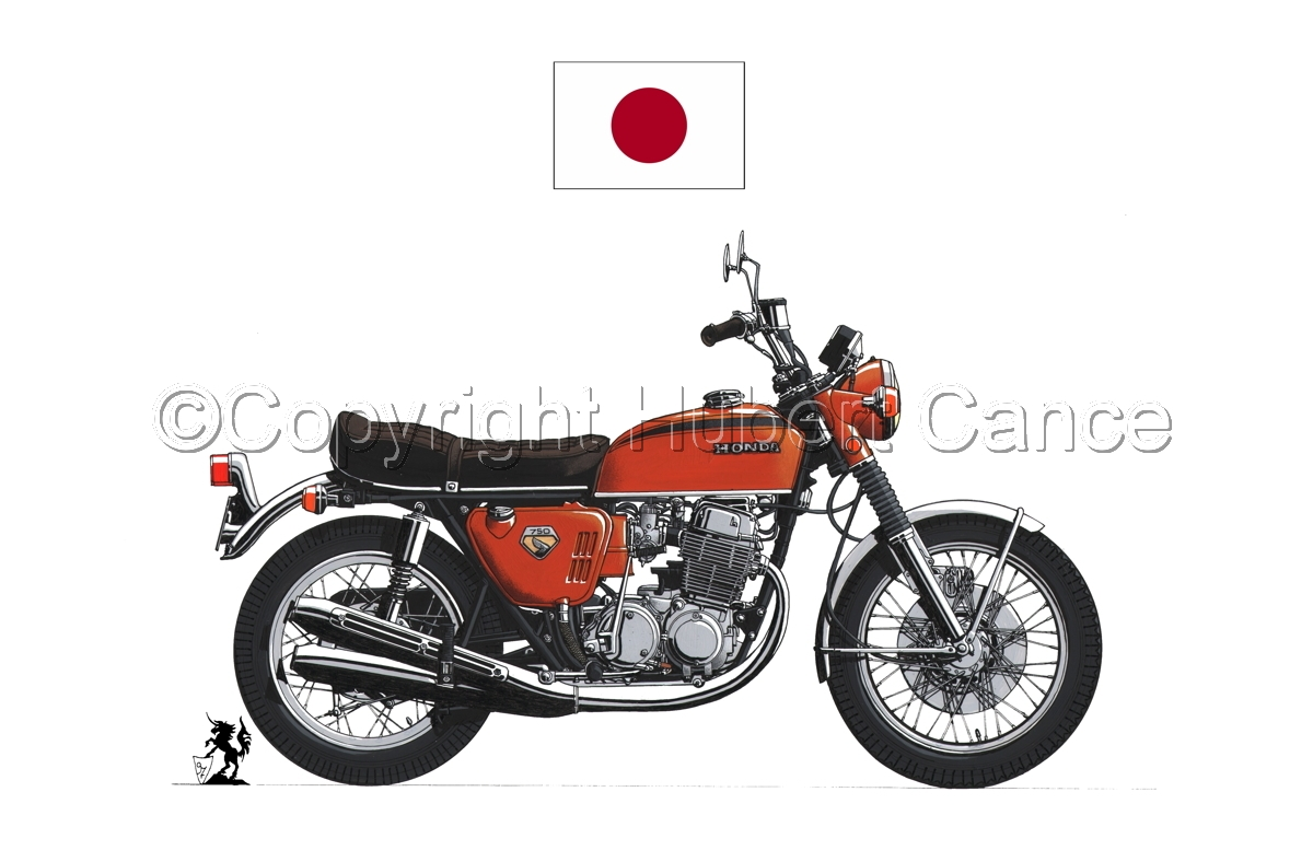 Honda CB750 Four (Flag #1.1) (large view)