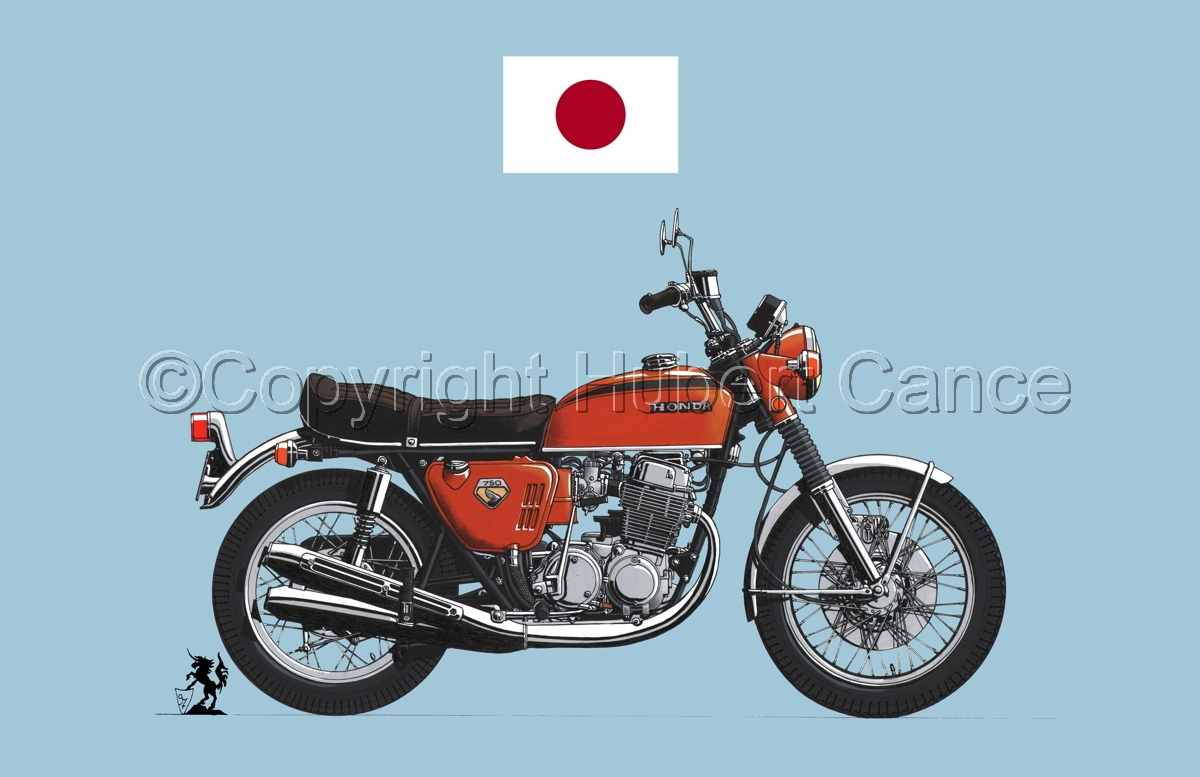 Honda CB750 Four (Flag #1.2) (large view)