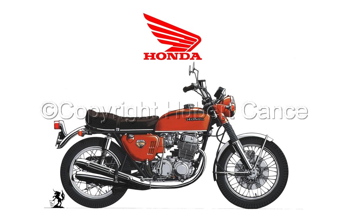 Honda CB750 Four (Logo #1.1) (large view)