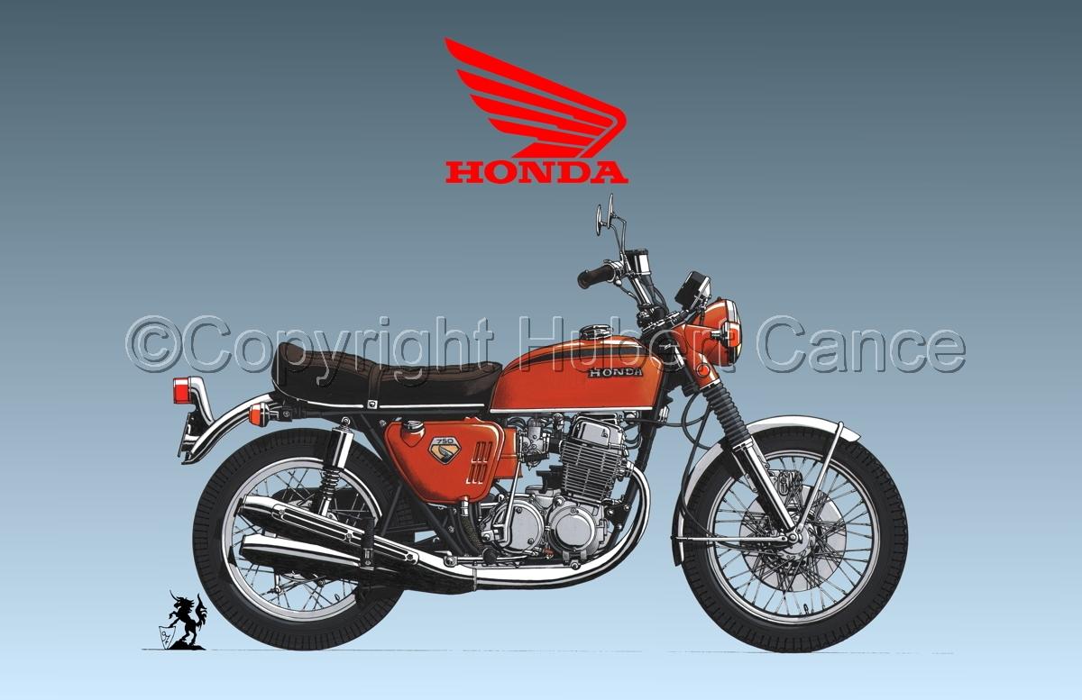Honda CB750 Four (Logo #1.3) (large view)